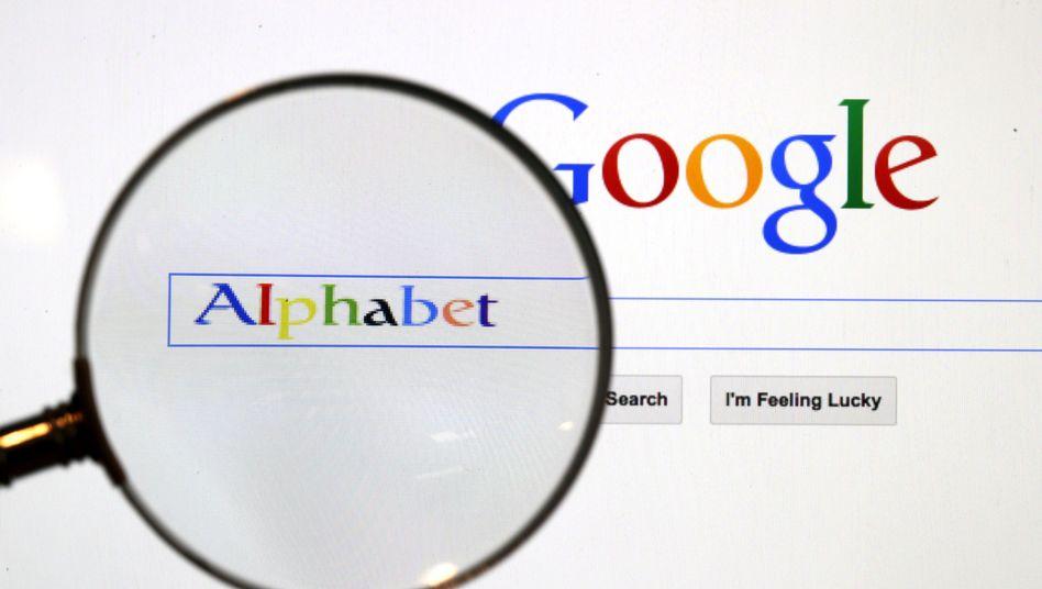 Die Mutter Alphabet ist stark von der Tochter Google abhängig und hat auf verschiedenen Baustellen zu kämpfen