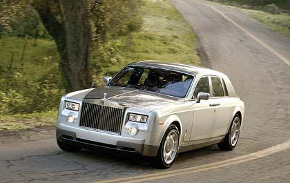 Den kann sich nicht jeder leisten: 319 Rolls Royce Phantom sind im ersten Halbjahr an die solvente Kundschaft ausgeliefert worden