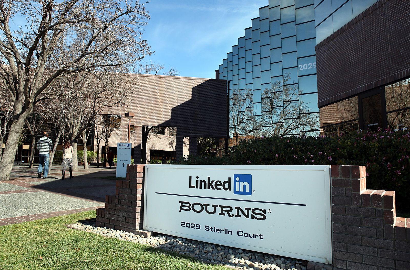 LinkedIn Hauptquartier Kalifornien / USA