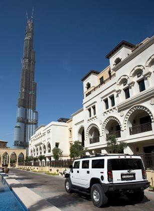 Wachstum überall: Höchstes Gebäude ist der Burj Dubai