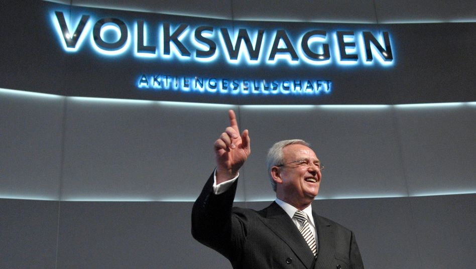 Ex-VW-Chef Martin Winterkorn: Stolz auf Autos - wie die meisten Deutschen