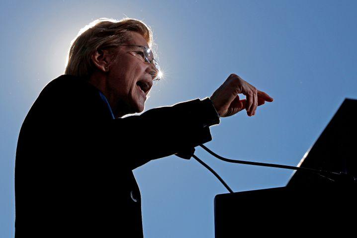 Kapitalistin mit Herz und Seele: Elizabeth Warren kämpft gegen Korruption, Big Money und Big Tech.