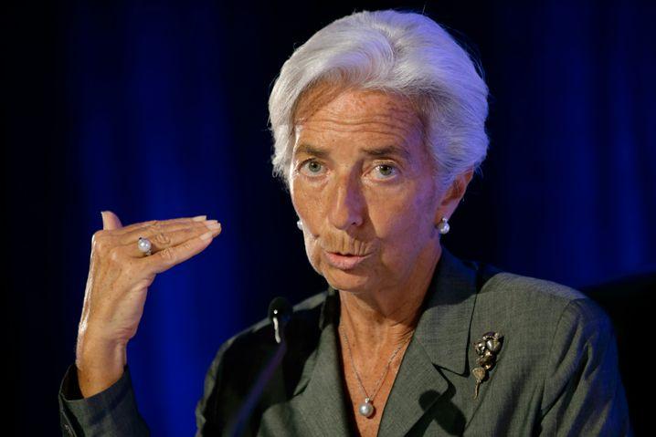 Christine Lagarde: Manchmal muss ein Haircut einfach sein
