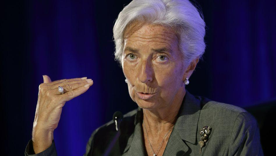 """""""Ich kehre diesen Nachmittag zum Arbeiten nach Washington zurück."""": Die IWF-Chefin Christine Lagarde schließt einen Rücktritt aus"""