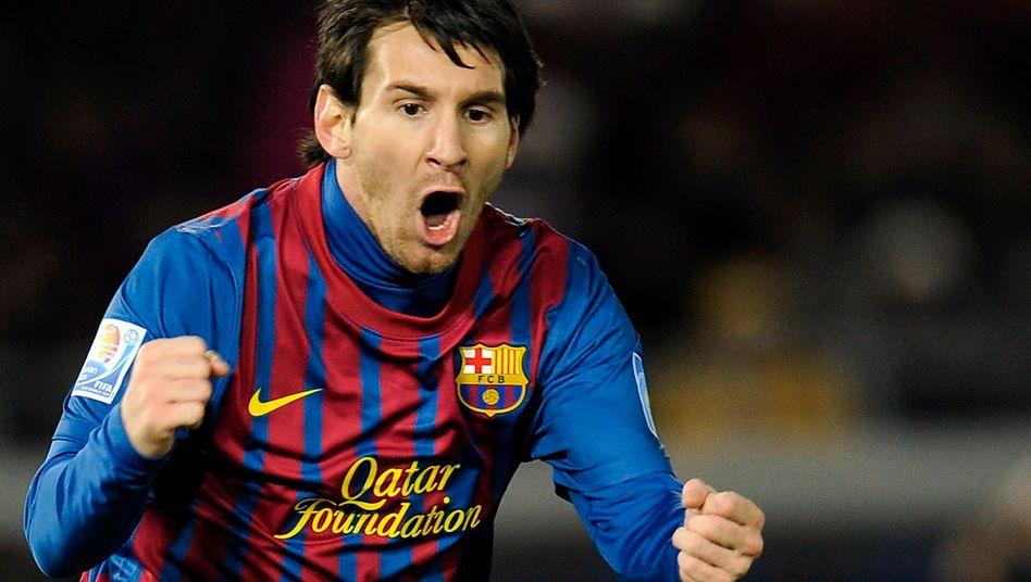 Hat-Trick: Messi ist zum dritten Mal in Folge zum Weltfußballer gewählt worden
