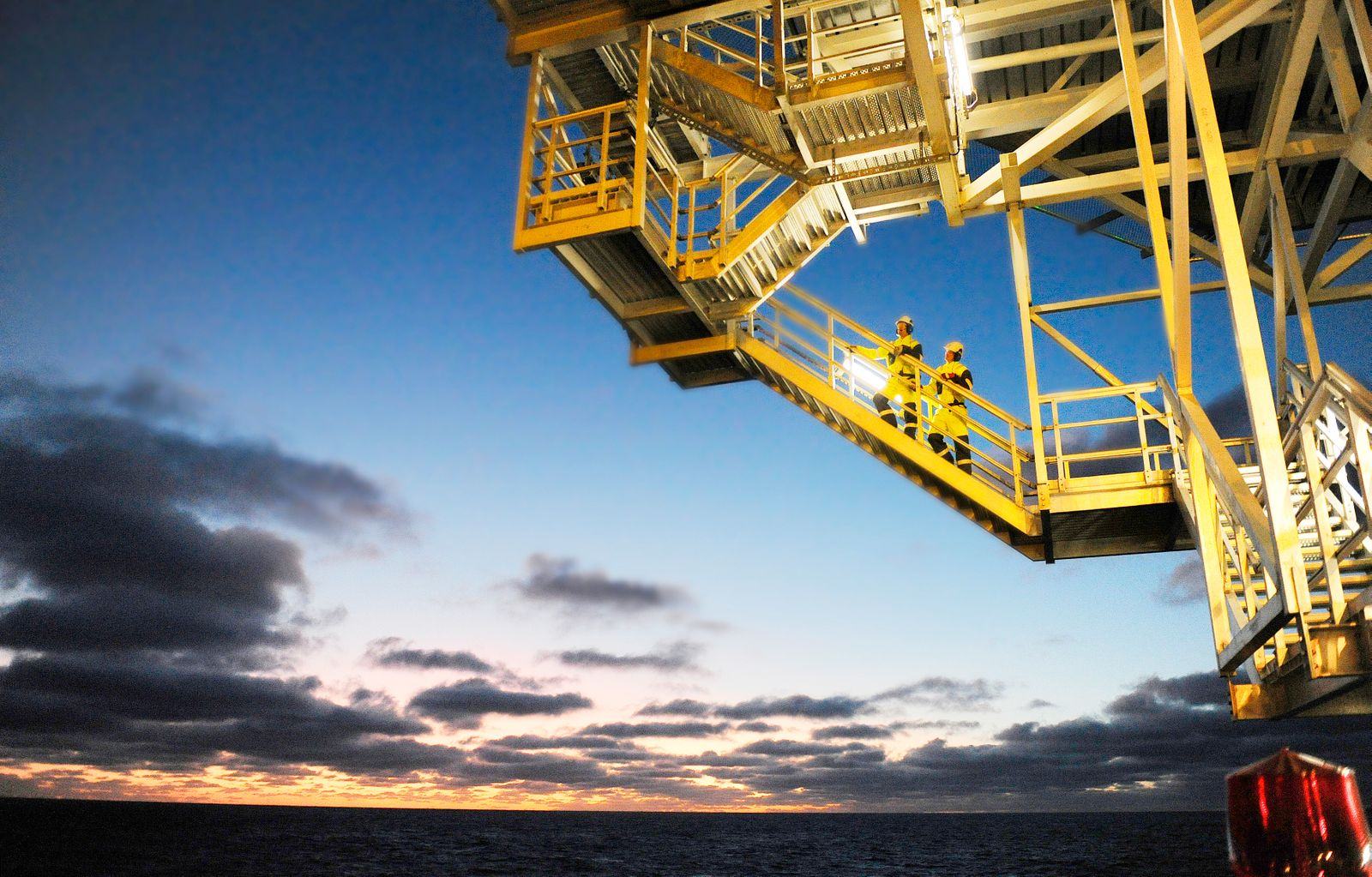 The Aker Barents drilling rig in Barents Sea