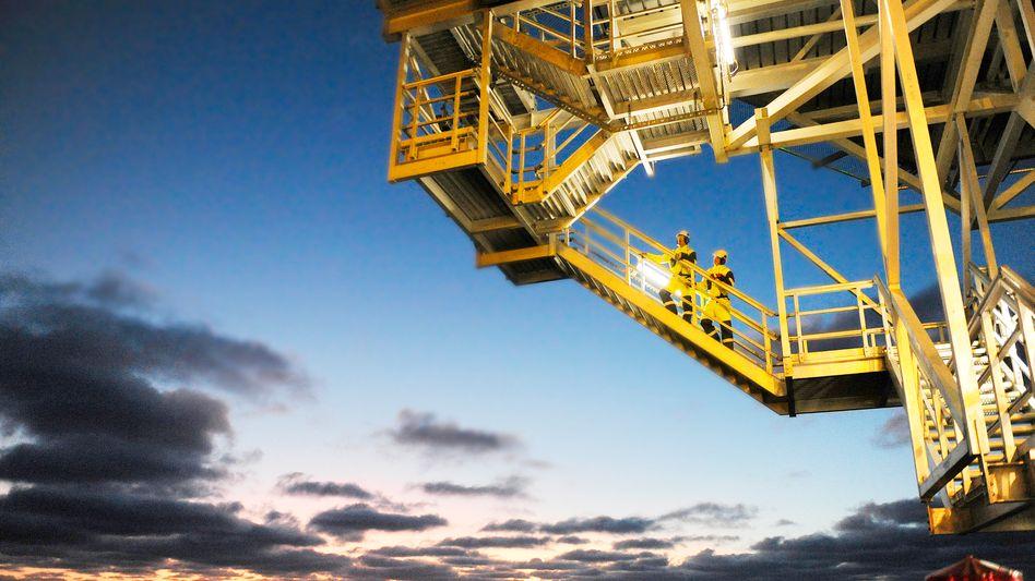 Teurer Ausflug: Probebohrinsel von Statoil in der Barentssee