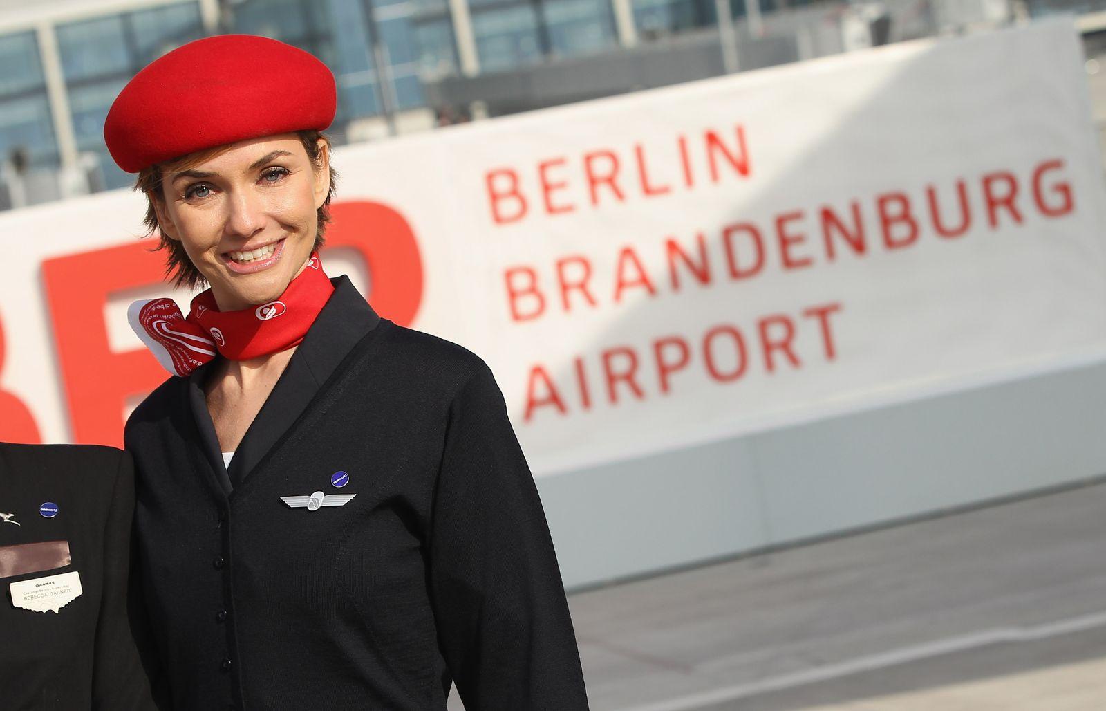 Air Berlin stewardess