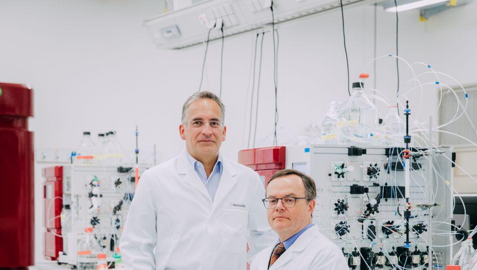 Doktoren-Duo: Vorstandchef Frank Mathias (links) und Eigentümer Nikolaus Rentschler ergänzen sich nahezu ideal