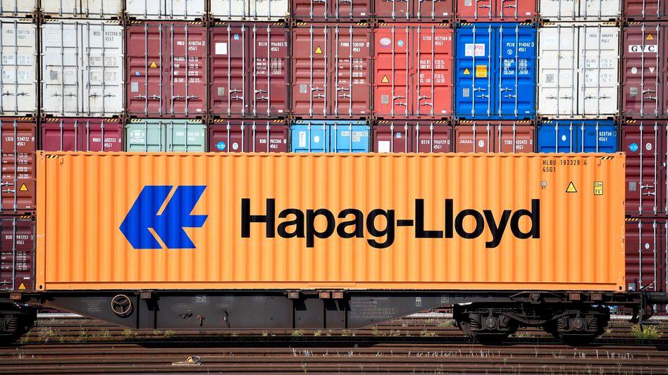 Weltweite Mangelware: Derzeit sind die Container von Hapag-Lloyd im Schnitt 60 Tage unterwegs - vor der Pandemie waren es 50 Tage