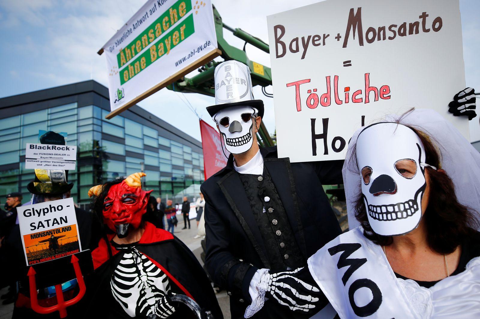 Bayer Monsanto / Protest