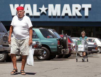 Wal-Mart-Filiale in Mount Prospect, Illinois: Effizienter Einzelhändler, der den Boom mit befeuert hat