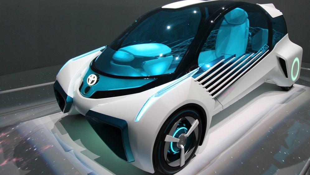 Motor Show in Tokio: Bunte Zukunftsvisionen statt grauer Alltagsautos