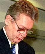 Das Ermittlungsverfahren ist soeben abgeschlossen, schon hat er einen neuen Job: Klaus Edelmann