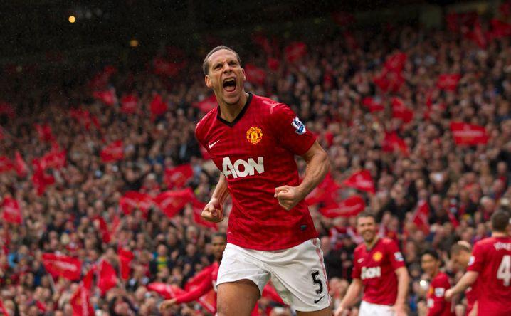 Manchester Uniteds Verteidiger Rio Ferdinand: Spielt für den bis heute wertvollsten börsennotierten Fußballclub der Welt