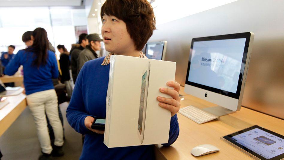 """Ärger um Apples Tablet: """"Wir werden definitiv alles versuchen, um auch den Verkauf des neuen iPads in China zu verbieten"""""""