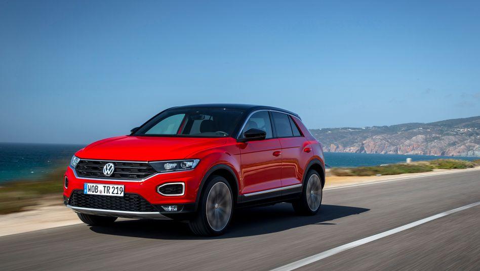 VW T-Roc: Erfolg mit kleinen Stadt-SUV in China