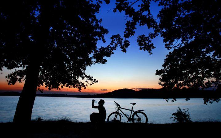 Entspannt am Fluss: Der Möhnetal-Radweg ist etwas für Genießer