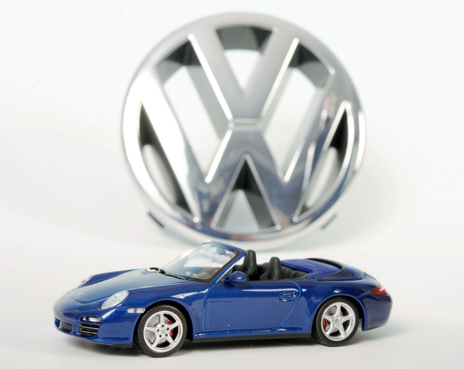 VW und Porsche / Modellauto