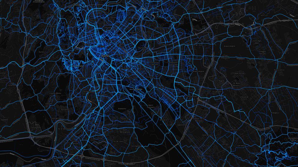 Übersicht über Europas Großstädte: Die Rad-Arterien der Metropolen