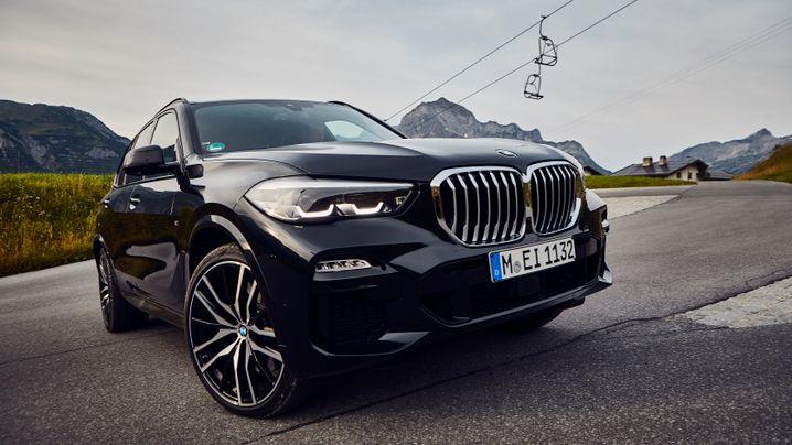 BMW X5 Plugin in Bildern: Exzellente Elektronik, lahmer Stromlader