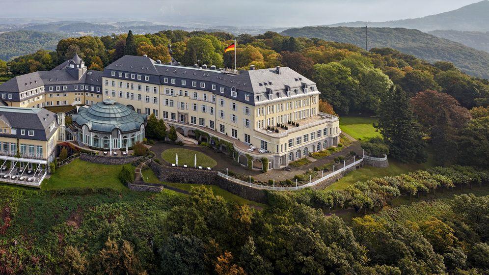 Grandhotel Petersberg: Das einzige Luxushotel in deutschem Staatsbesitz
