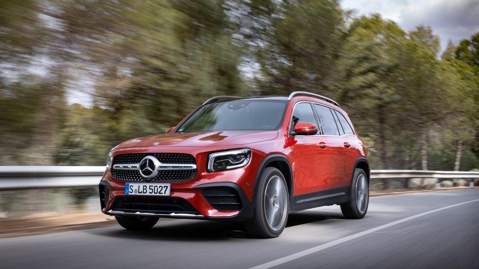 Mercedes-Benz GLB: Die Being Automotive Group (BAIC) prüft eine Erhöhung ihres Anteils. BAIC ist mit 5 Prozent der Anteile neben Geely (10 Prozent) der zweite chinesische Großaktionär bei den Stuttgartern