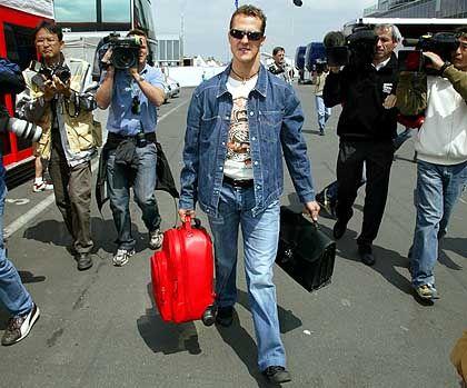 """""""Drastische Schritte, um die Formel 1 langsamer zu machen."""" Ferrari-Fahrer Michael Schumacher"""