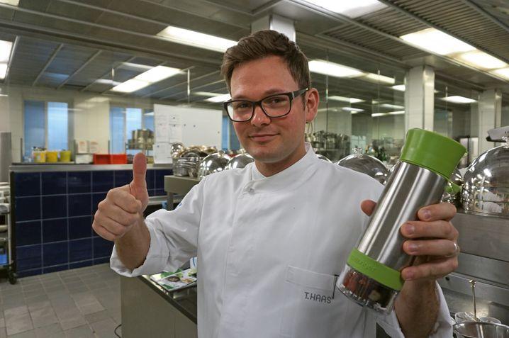 Ordentliches Produkt: Haas mag den Aquazinger