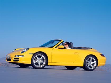 Frisch in den Sportwagenfrühling: Porsche 911 Carrera Cabriolet