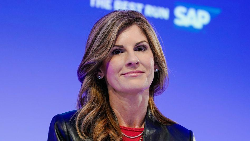 Co-Vorstandschefin Jennifer Morgan hat den Machtkampf bei SAP verloren und geht.