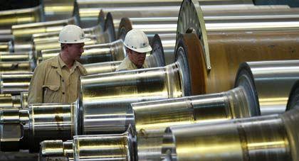 Anlaufkosten für neue Werke:Mitarbeiter von ThyssenKrupp