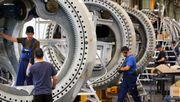 Deutsche Industrie erholt sich rasant