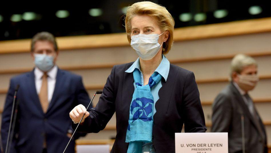 EU-Kommissionspräsidentin Ursula von der Leyen will diese Woche ihren Corona-Wiederaufbauplan vorstellen