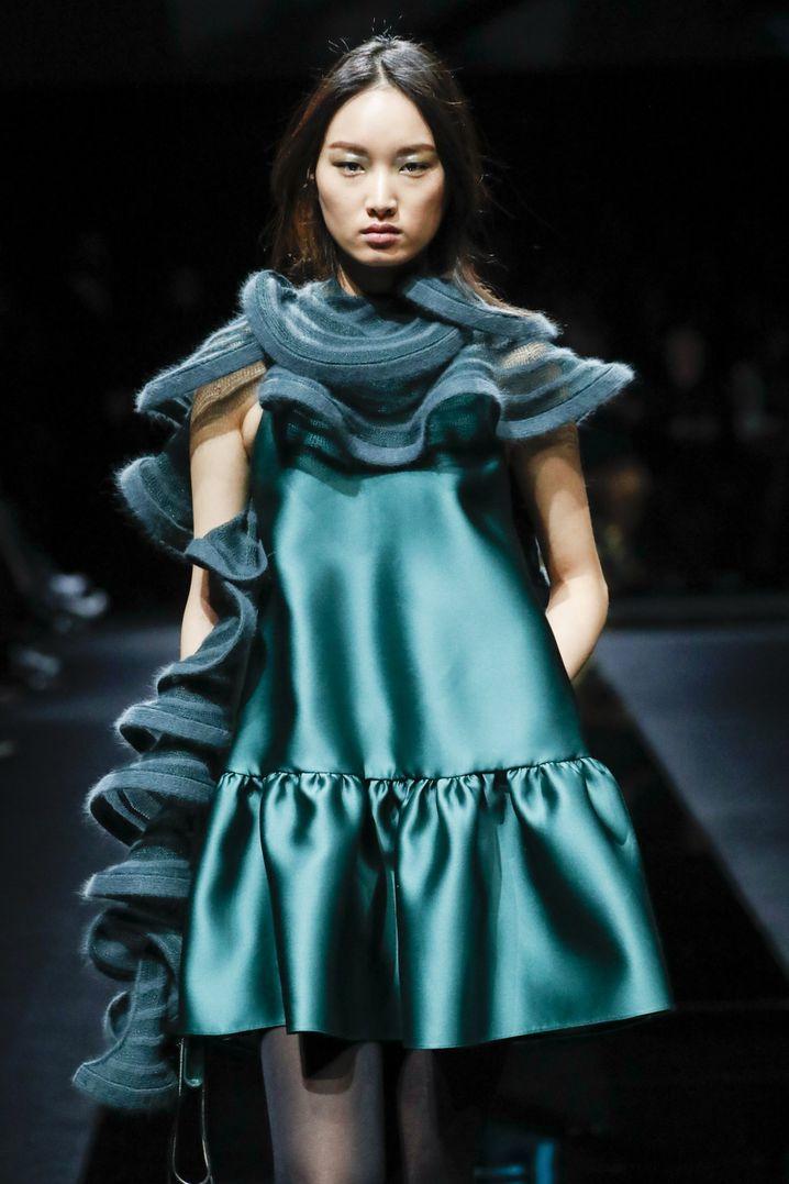 Armani ließ seine Mailänder Modeschau per Internet übertragen