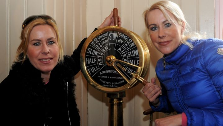 """""""Traumschiff""""-Schwestern: Gisa und Hedda in schwerer See"""