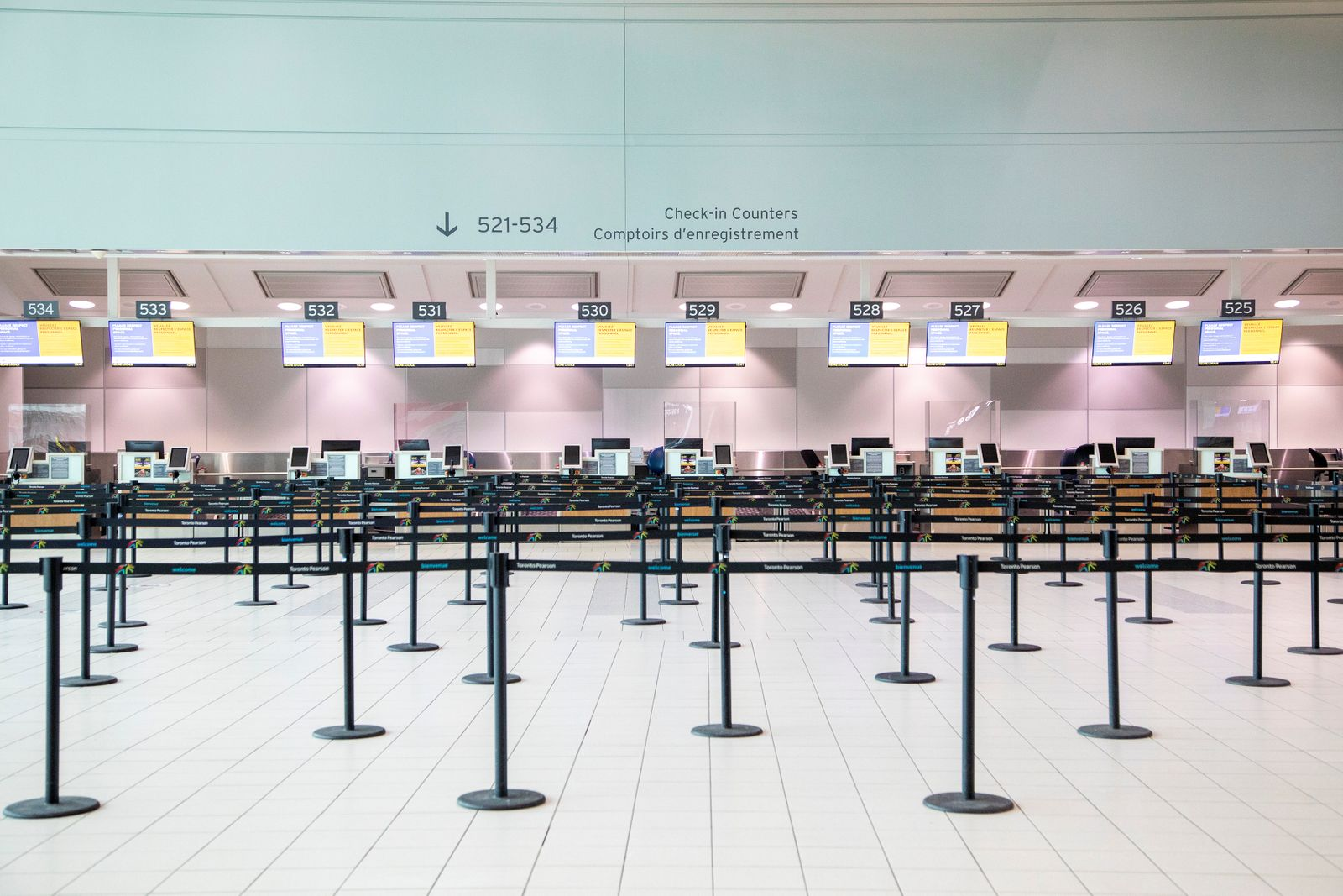 """Healthy Airport"" initiative is launched for travel in Toronto"