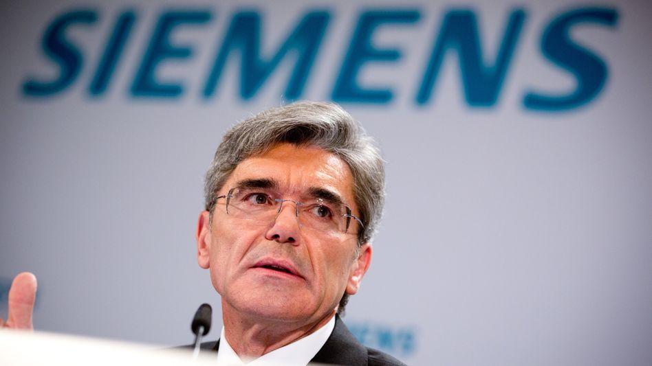 Siemens-Chef Kaeser: Von den üblichen Standards für Akquisitionen abgewichen