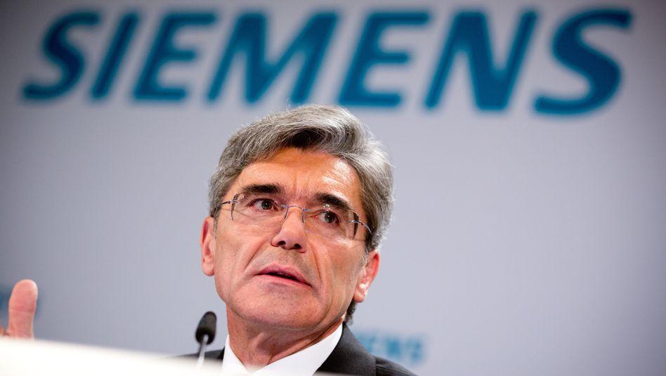 Siemens-ChefJoe Kaeser: Grundlegender Umbau des Konzerns