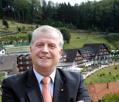 Hotelier des Jahres: Meinrad Schmiederer