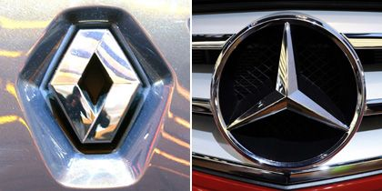 Endspurt: Die Gespräche über eine Allianz zwischen Daimler und Renault befinden sich offenbar auf der Zielgeraden