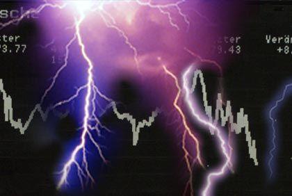 Leitindex als Blitzableiter: 2006 war ein gutes Börsenjahr für den Dax, obwohl viele große Namen ins Zwielicht gerieten