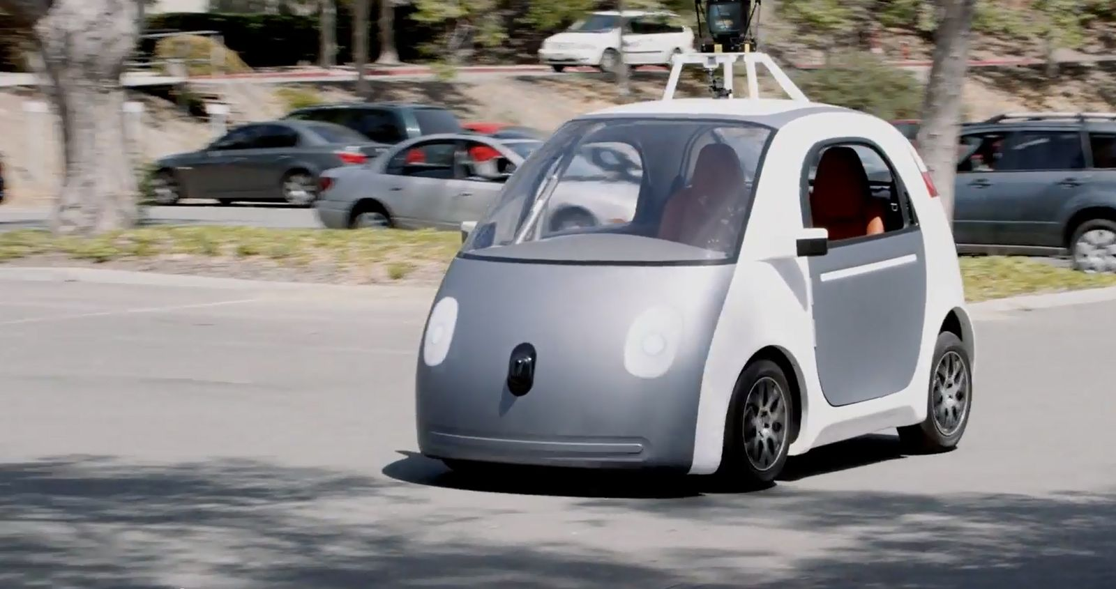 SCREENSHOT Youtube / Google Driverless Car
