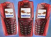 """Nokia 5140 mit """"Push to talk""""-Funktion: Einfach auf die Sprechtaste drücken und losreden"""