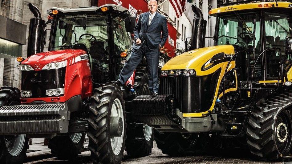 Big in New York: Mit Treckern hat Martin Richenhagen in Amerika sein Glück gemacht.