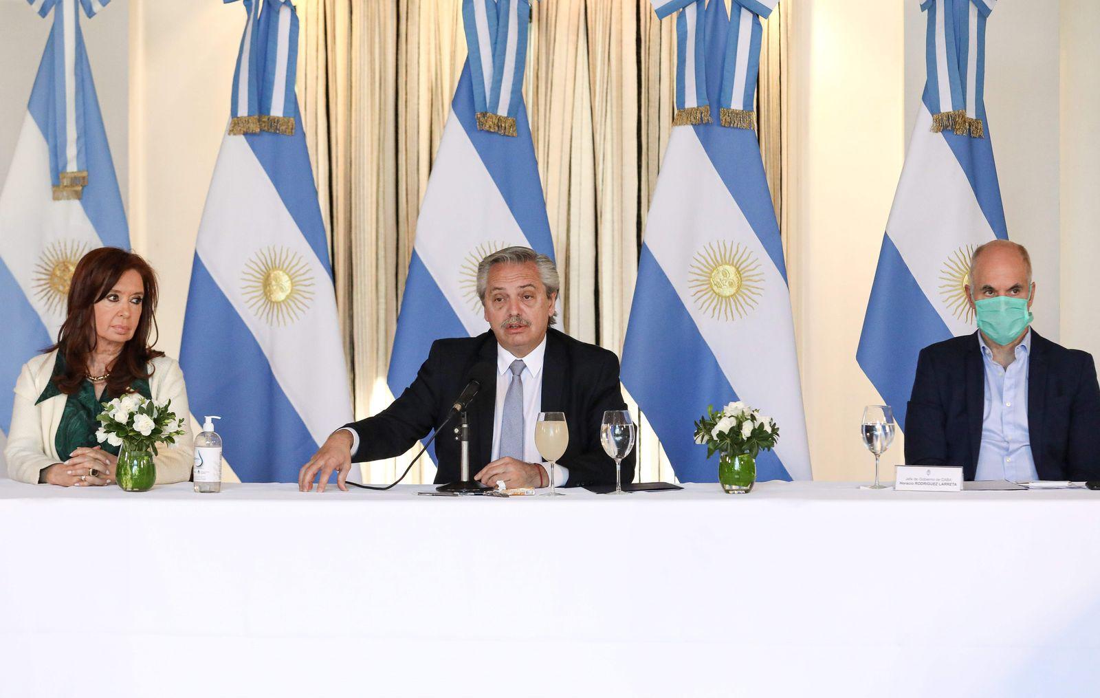 Argentinas Presidency of Argentine President Alberto Fernandez