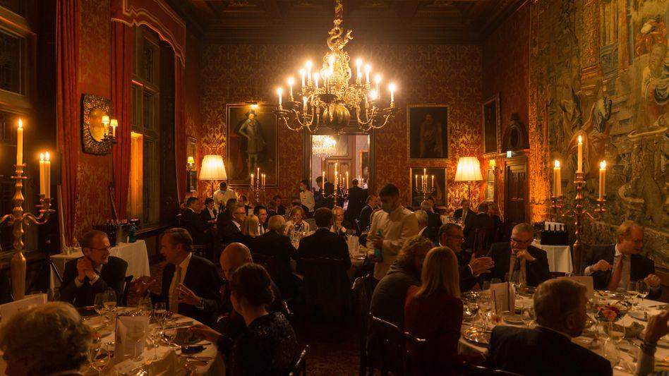 Festliches Ambiente: Im Schlosshotel Kronberg ehrte das manager magazin die Laureaten der Hall of Fame