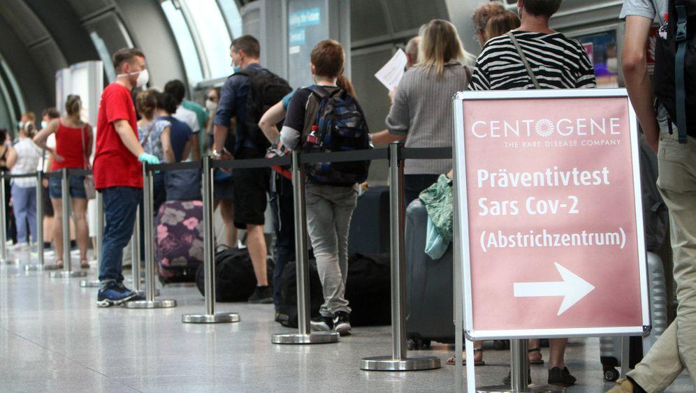 Covid-19-Testzentrum am Frankfurter Flughafen: Reisen der Zukunft?