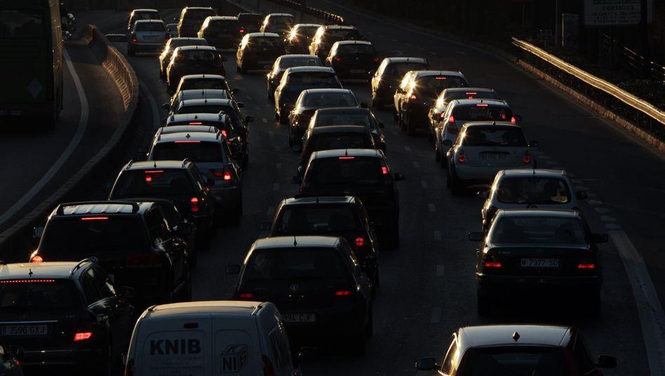 Verkehr in Madrid: Der Markt tritt auf die Bremse