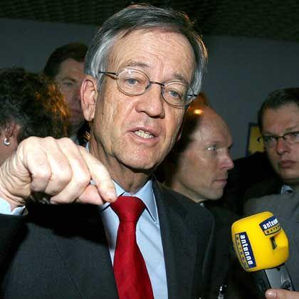 In der Kritik: Aufsichtsratschef von Pierer auf der Siemens-Hauptversammlung im Januar